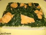 Špenátový koláč bez lepku, mléka a vajec recept