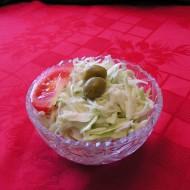 Zelný salát s kysanou smetanou recept