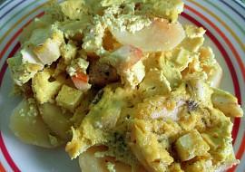 Zapékané brambory (Alu Gauranga) recept
