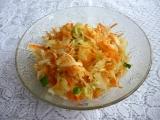Mrkvový salát s kysaným zelím recept