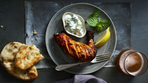 Kuře tandoori s raitou