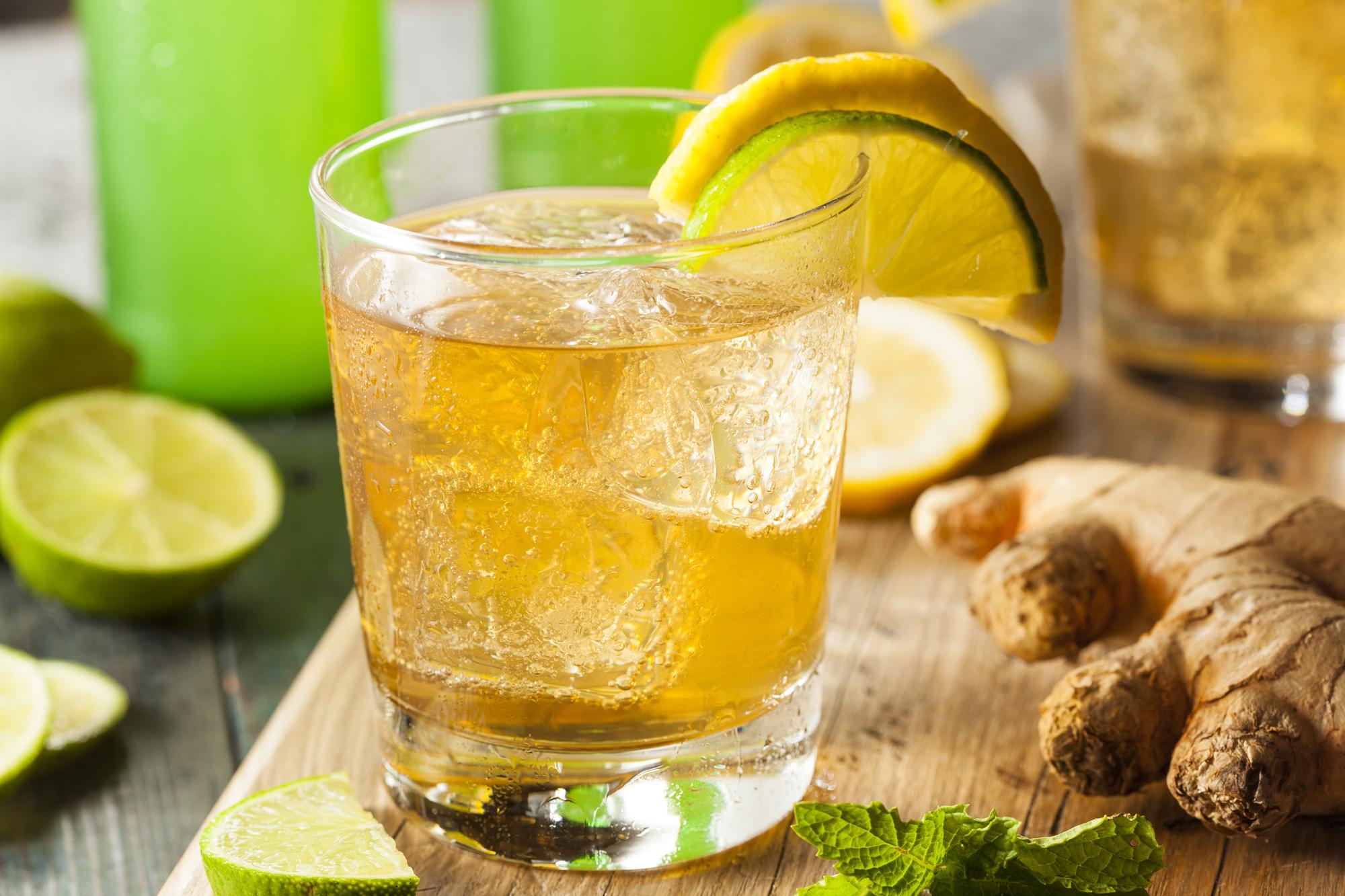 Zázvorová limonáda recept