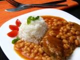 Krkovička s fazolemi recept
