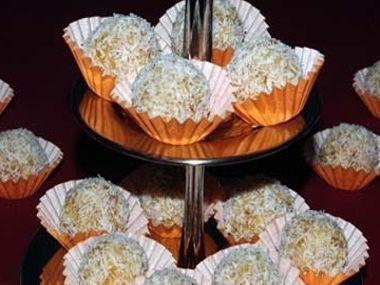 Kokosové kuličky s meruňkami  dia