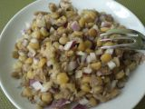 Luštěninový salát recept
