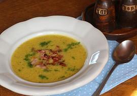 Polévka z cukety a kořenové zeleniny se šunkou recept ...