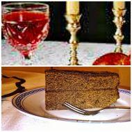 Vánoční šťavnatý Sacherův dort recept