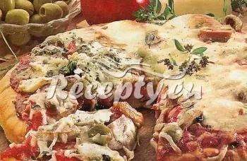 Cuketová pizza recept  pizza