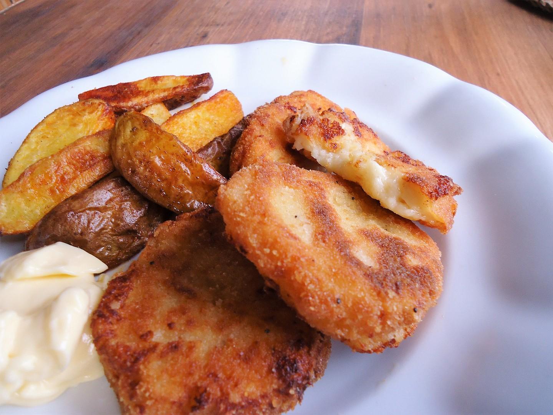 Smažený sýr s bešamelem recept