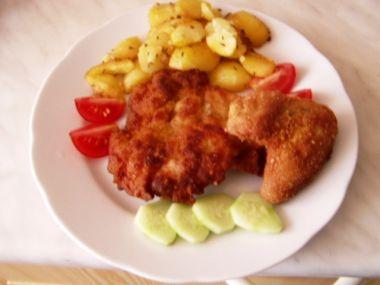 Recept Císařské kuřecí řízky
