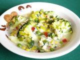 Zeleninová polévka s brokolicí a vaječnou jíškou recept ...