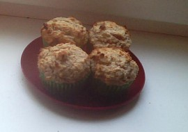 Citronové muffiny z žitné mouky  zdravé a dietní recept ...