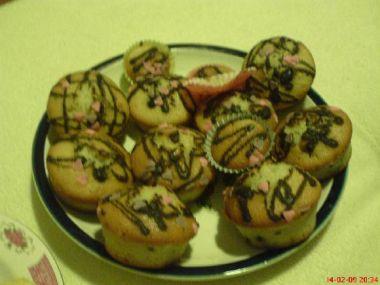 Muffiny z ovocného jogurtu