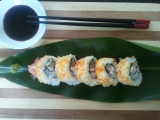 Sushi naopak Uramaki recept