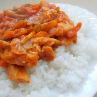 Kuřecí čína s jasmínovou rýží recept