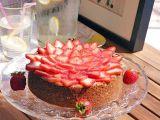 Cheesecake se sušenkovou krustou a čerstvým ovocem recept ...