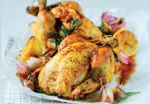 Pečené kuře dle časopisu F.O.O.D.