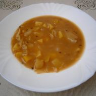 Zasmažená zelná polévka recept