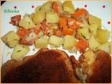 Dobré bramborky s indickým kořením a mrkví recept