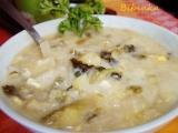 Smetanová kapustovo-zelná polévka s houbami recept ...