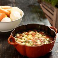 Kuřecí polévka s estragonovými nočky recept