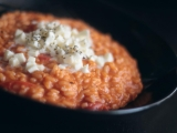 Rajčatové risotto recept