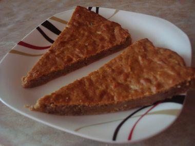 Jablečný celozrný koláč