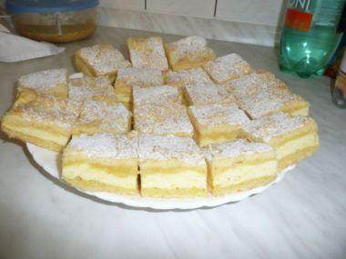 Recept Tvarohový koláč s banány