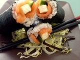 Sushi s uzeným lososem recept