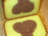 Bábovka dvoubarevná poctivá (z DP) recept