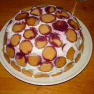 Nepečený smetanový dort s piškoty recept