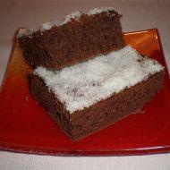 Tmavý koláč zvaný vodouch recept
