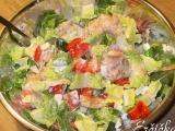 Jednoduchy rybi salat recept