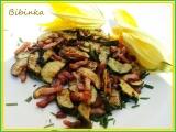 Restovaná cuketa na slanince recept