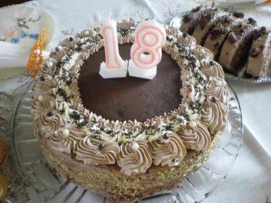 Čokoládový dort od maminky