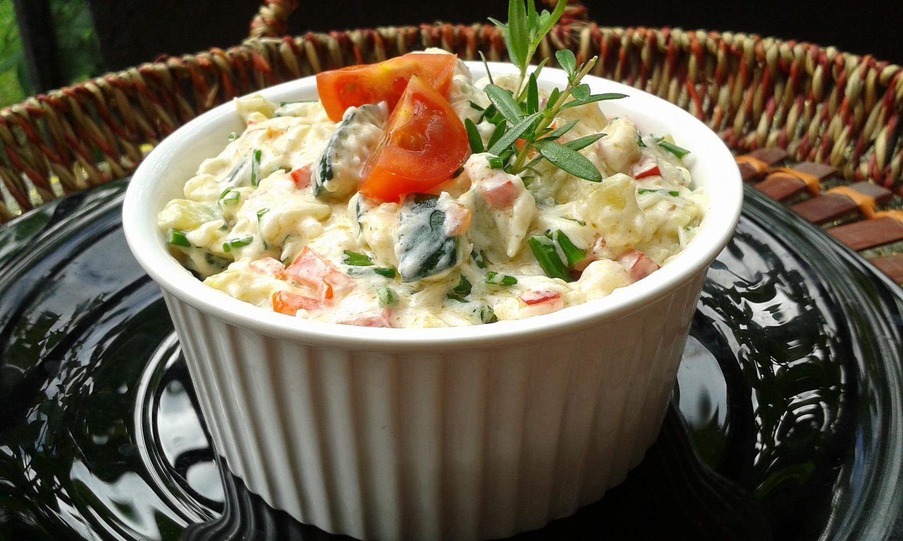 Cuketový salát  nebo pomazánka ? recept