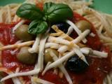 Špagety s rajčatovou omáčkou. recept