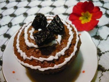 Perníkové muffinky se švestkami