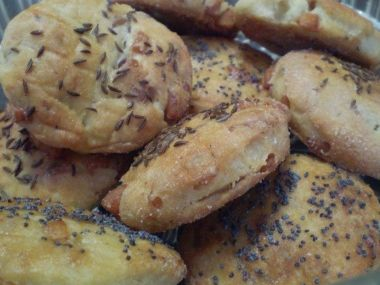 Škvarkové placky s brambory