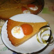 Tvarohový meruňkový koláč recept