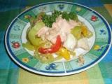Salát z rybího filé recept