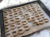 Špaldové vanilkové rohlíčky recept