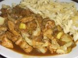 Těstoviny s čínskou omáčkou recept