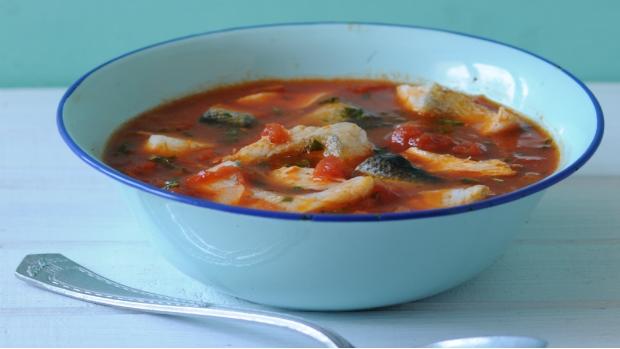 Chorvatská rybí polévka