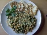 Cizrna se špenátem recept