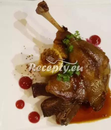 Moravská kachna recept  drůbeží maso