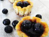 Borůvkové minicheesecaky recept