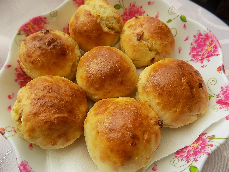 Ricottové bochánky s brusinkami recept