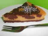Čokoládovo-dýňový cheesecake recept