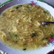 Hrstková zeleninová polévka recept